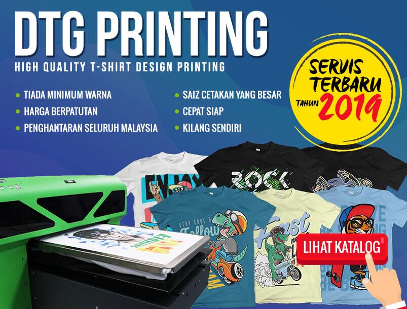 DTG Printing Oh Tshirt Shah Alam