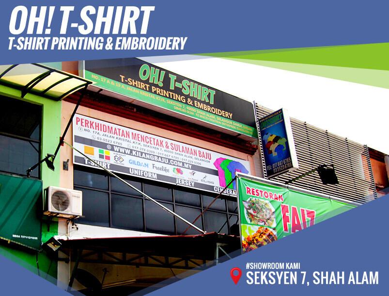 Oh T-Shirt Shah Alam